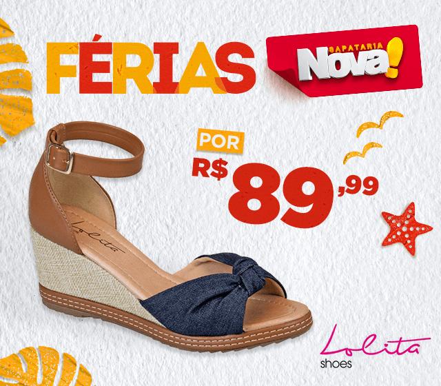 53e6b74db Loja de Calçados Online - Loja Sapataria Nova