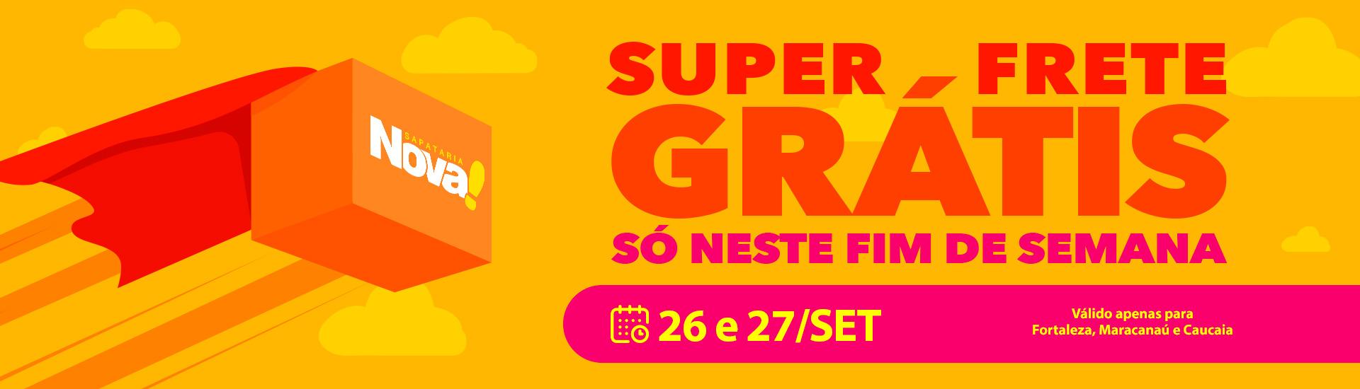 Super frete Grátis - Final de semana