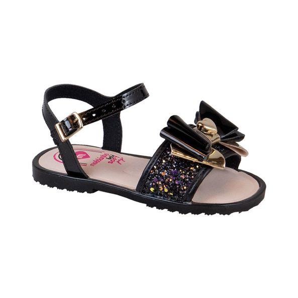 Sandalia-Infantil-Com-Laco-Fashion-Molekinha-Preto-2700102-Tamanho--22---Cor--PRETO-0