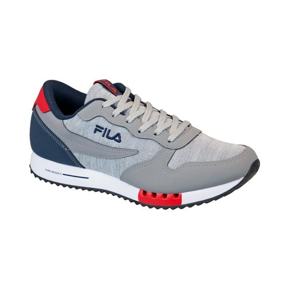 Tenis-Running-Fila-11u335x-fil-Cinza-marinho-vermelho-Tamanho--39---Cor--CINZA-0