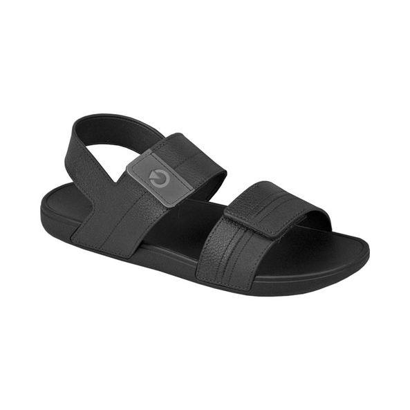 Sandalia-Cartago-Masculina-Dakar-Com-Velcro-Preta-Tamanho--40---Cor--PRETO-0