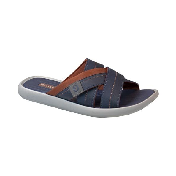 Sandalia-Casual-Mali-XII-Slide-Cartago-Cinza-Azul-Marrom-Tamanho--37---Cor--CINZA-0