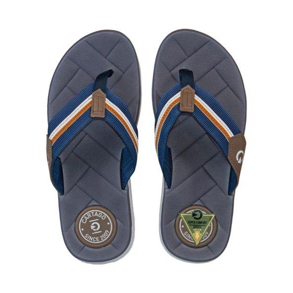 Chinelo-Casual-Dedo-Cartago-Azul-Marrom-E-Branco-Tamanho--40---Cor--BRANCO-0