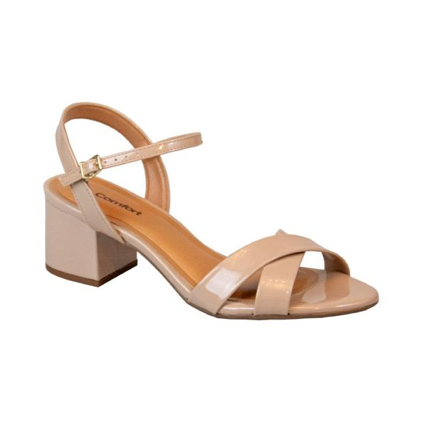 Sandalia-Elegante-Frontal-Cruzada-Comfort-Bege-Tamanho--35---Cor--BEGE-0
