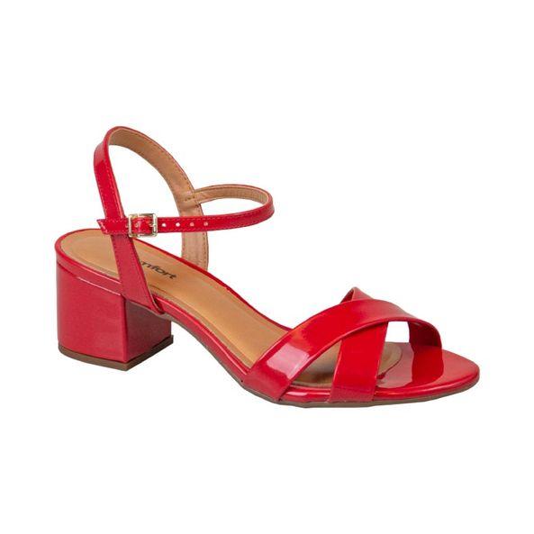 Sandalia-Elegante-Frontal-Cruzada-Comfort-Vermelha-Tamanho--34---Cor--VERMELHO-0