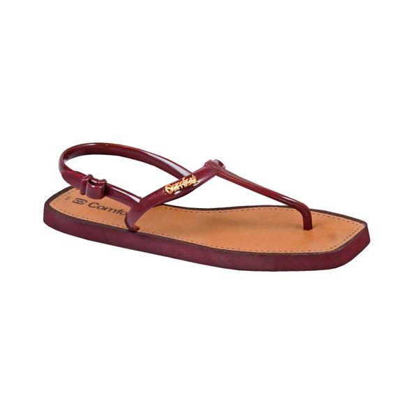 Rasteira-Flat-Summer-Comfort-Bordo-Tamanho--33---Cor--BORDO-0