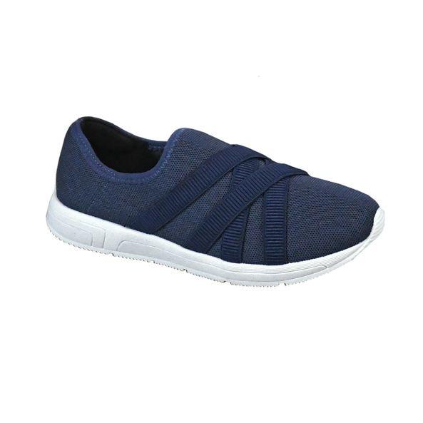Tenis-Casual-com-Tiras-de-Elastico-Comfort-Dark-Blue-Tamanho--33---Cor--DARK-BLUE-0