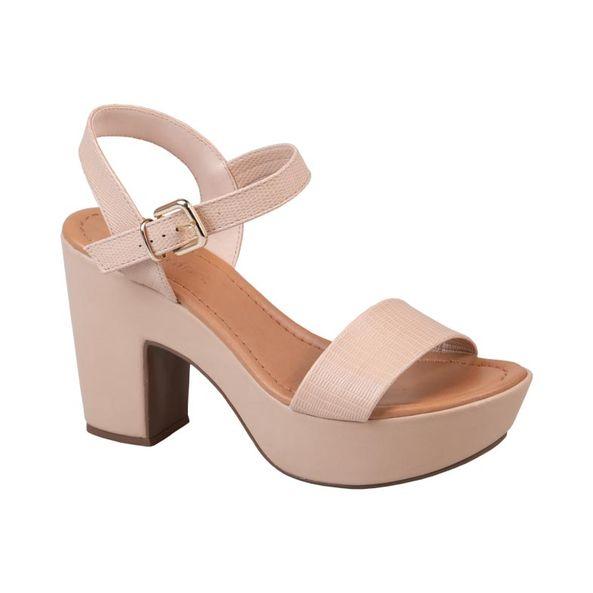 Sandalia-Plataforma-com-Textura-Comfort-Bege-Claro-Tamanho--37---Cor--NUDE-0