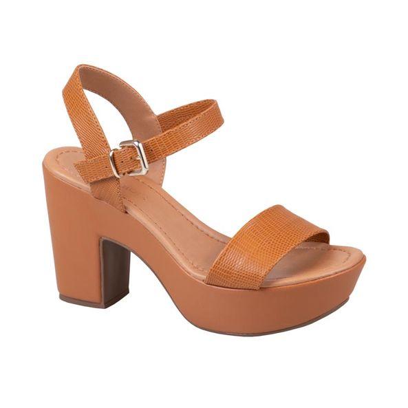 Sandalia-Plataforma-com-Textura-Comfort-Terracota-Tamanho--34---Cor--DOCE-DE-LEITE-0