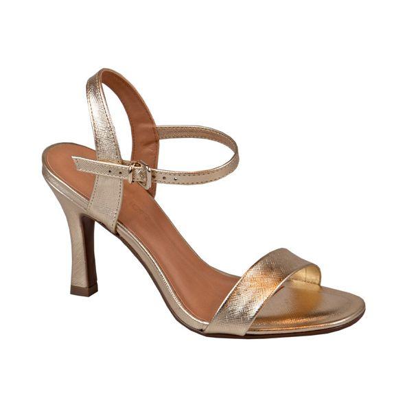Sandalia-Slim-com-Textura-Comfort-Dourada-Tamanho--35---Cor--DOURADO-0