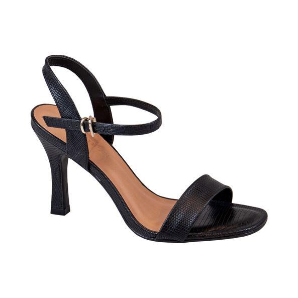 Sandalia-Slim-com-Textura-Comfort-Preta-Tamanho--35---Cor--PRETO-0