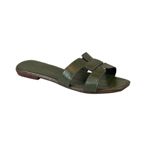 Rasteira-Comfort-Crocodiles-Army-Tamanho--36---Cor--ARMY-0