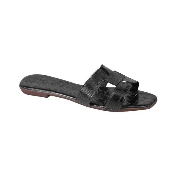 Rasteira-Comfort-Crocodiles-Preto-Tamanho--36---Cor--PRETO-0