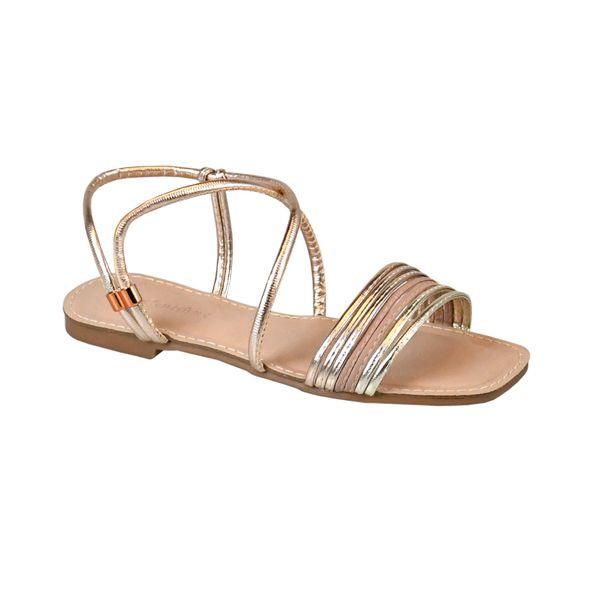 Rasteira-com-Tiras-Comfort-Bronze-Tamanho--35---Cor--BRONZE-0