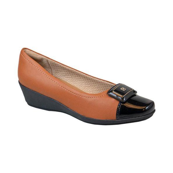 Sapato-Anabela-Biqueira-Verniz-Comfort-Terracota-Tamanho--36---Cor--OCRE-0