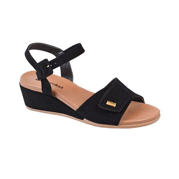 Sandalia-Anabela-com-Velcro-Comfort-Preta-Tamanho--34---Cor--PRETO-0