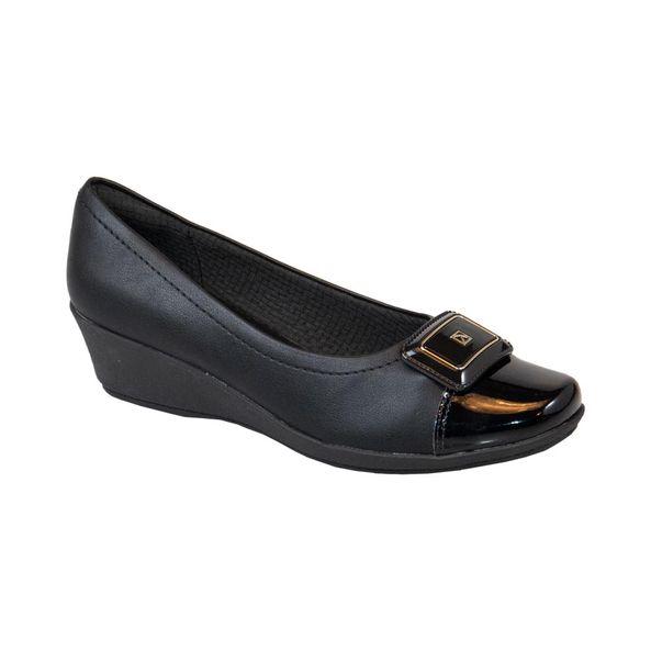 Sapato-Anabela-Biqueira-Verniz-Comfort-Preto-Tamanho--35---Cor--PRETO-0