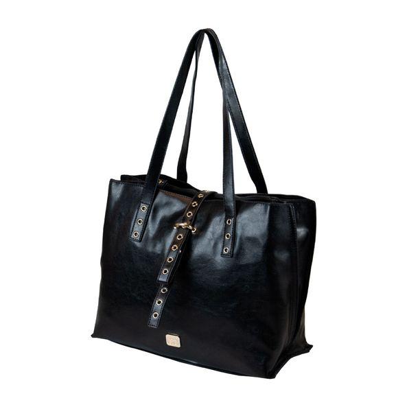 Bolsa-Tote-Estilosa-Comfort-Preta-Tamanho--UN---Cor--BLACK-0