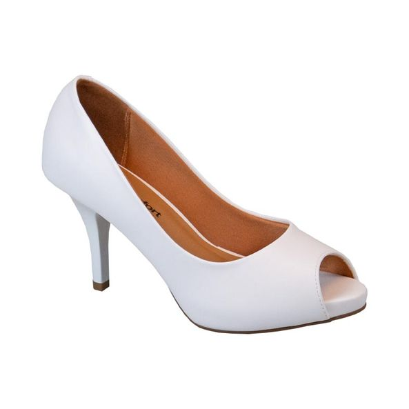 Sapato-Elegante-Peep-Toe-Comfort-Branco-Tamanho--33---Cor--BRANCO-0