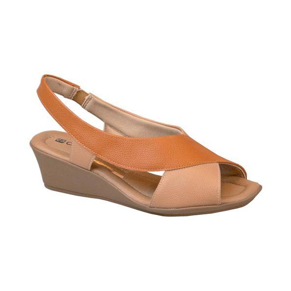 Sandalia-Anabela-para-Joanete-Comfort-Terracota-Tamanho--35---Cor--CAPUCCINO-0