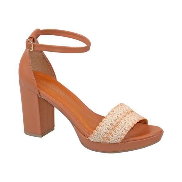 Sandalia-Meia-pata-Com-Cabedal-Tramado-Comfort-Terracota-Tamanho--35---Cor--BAMBU-0