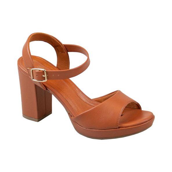 Sandalia-Meia-Para-Salto-Alto-Comfort-Terracota-Tamanho--34---Cor--CASTOR-0