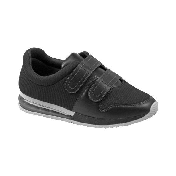 Tenis-Casual-Com-Velcro-Comfort-Preto-Tamanho--35---Cor--PRETO-0