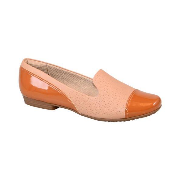 Sapato-Loafer-com-Bico-em-Verniz-Joanete-Comfort-Terracota-Tamanho--36---Cor--OCRE-0