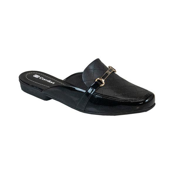 Sapato-Mule-Classico-Comfort-Preto-Tamanho--33---Cor--PRETO-0