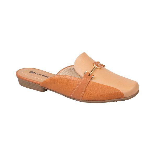 Sapato-Mule-Bico-Arredondado-Comfort-Terracota-Tamanho--34---Cor--OCRE-0