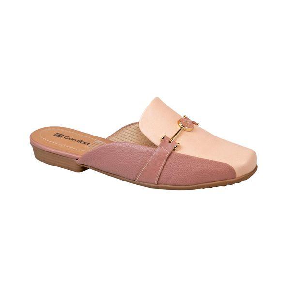 Sapato-Mule-Bico-Arredondado-Comfort-Rose-Tamanho--34---Cor--ROSA-VINTAGE-0