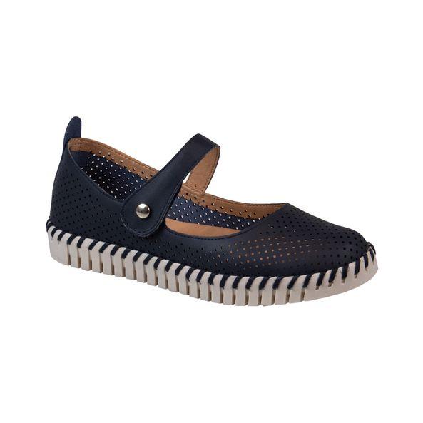Sapato-em-Couro-Comfort-Azul-Marinho-Tamanho--36---Cor--MARINHO-0