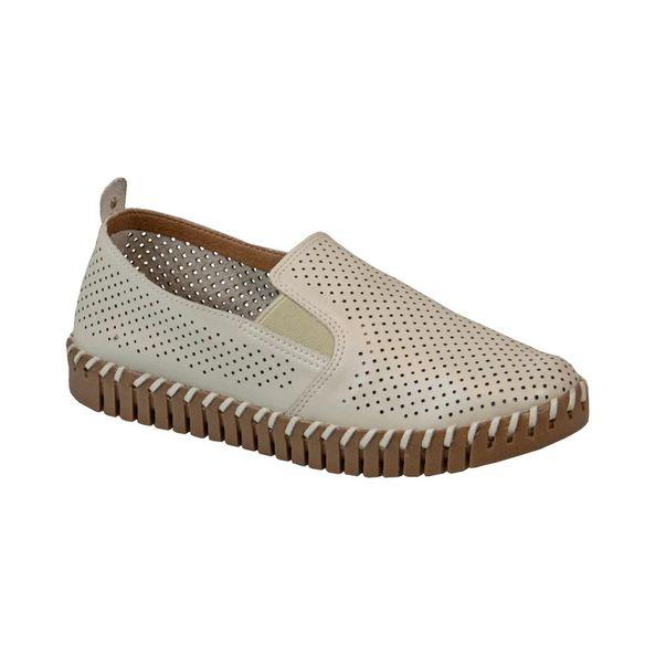 Sapato-Slip-On-em-Couro-Texturizado-Branco-Gelo-Comfort-Tamanho--38---Cor--OFF-WHITE-0