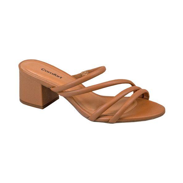 Tamanco-Elegante-Em-Tiras-Salto-Bloco-Comfort-Camel-6313204-Tamanho--38---Cor--CAMEL-0