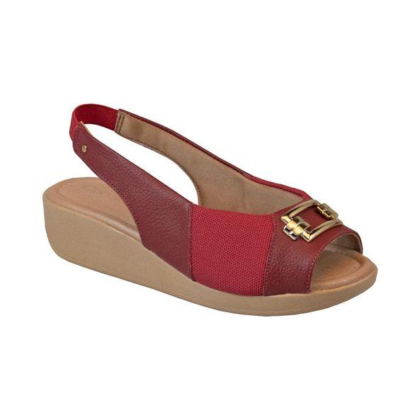 Sandalia-Peep-Toe-com-Fivela-Comfort-Carmin-104-Tamanho--40---Cor--CARMIM-0