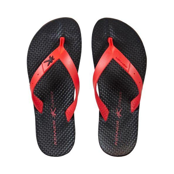 Chinelo-Praia-Kenner-Vermelho---Preto-HAT-Tamanho--39---Cor--VERMELHO-0