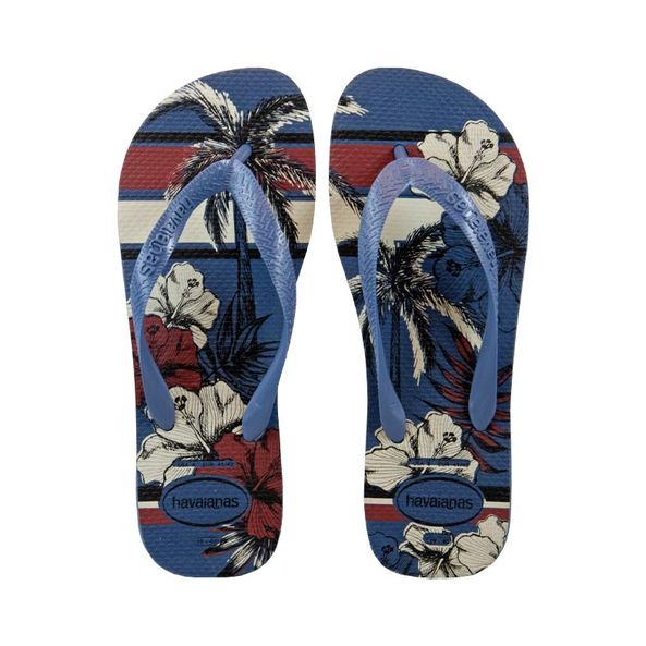 Chinelo-Masculino-Havaianas-Estampa-Floral-Azul-4111355-Tamanho--37---Cor--AZUL-INDIGO-0