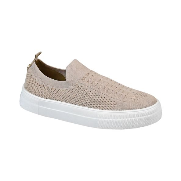 Tenis-Casual-Tricot-Comfort-Bege-Tamanho--34---Cor--NUDE-0