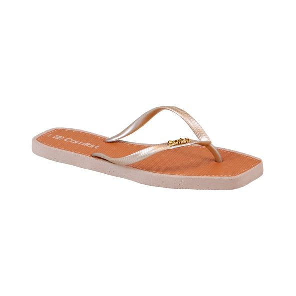 Chinelo-Summer-Comfort-Metalizado-Tamanho--33---Cor--AREIA-0