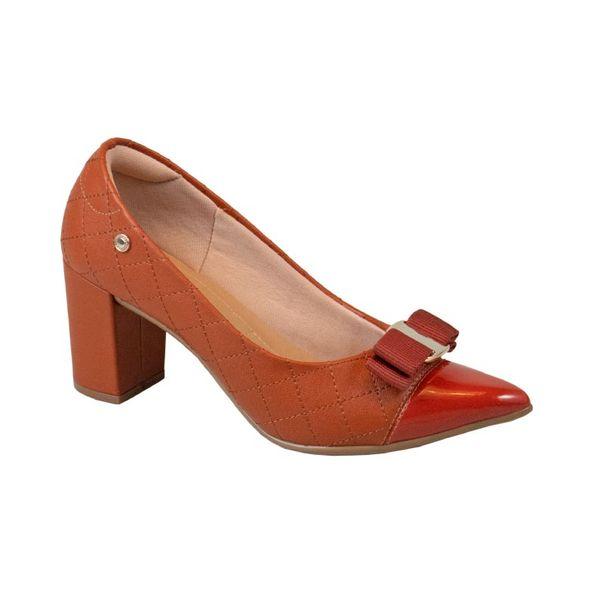 Scarpin-Classico-e-Elegante-Com-Lacinho-Comfort-Ruggine-Tamanho--35---Cor--RUGGINE-0