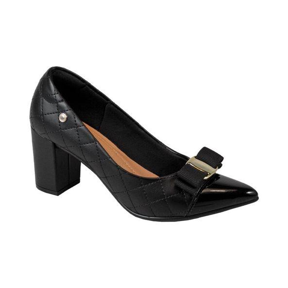 Scarpin-Classico-e-Elegante-Com-Lacinho-Comfort-Preto-Tamanho--37---Cor--PRETO-0