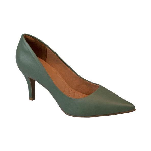 Scarpin-Feminino-Em-Napa-Elegante-Comfort-Verde-Azeitona-Tamanho--38---Cor--AZEITONA-0
