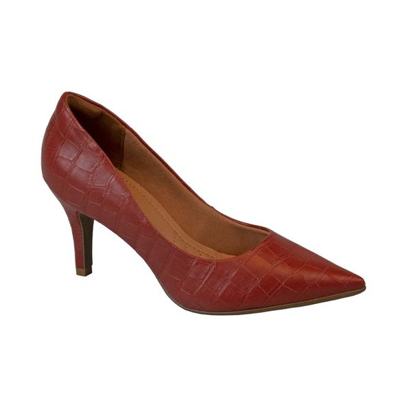 Scarpin-Feminino-Com-Textura-Comfort-Vinho-Tamanho--37---Cor--RUM-0