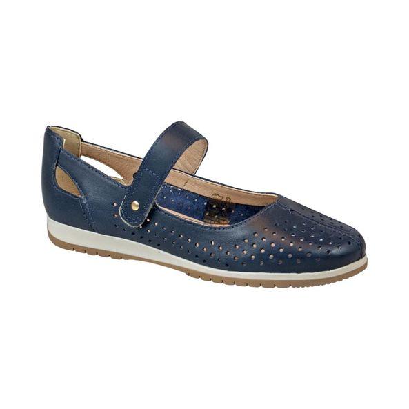 Sapato-Moderno-Com-Recores-a-Laser-Comfort-Couro-Azul-Marinho-Tamanho--37---Cor--MARINHO-0
