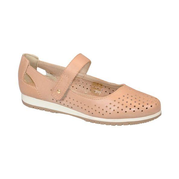 Sapato-Moderno-Com-Recores-a-Laser-Comfort-Couro-Creme-Tamanho--37---Cor--BROWN-0