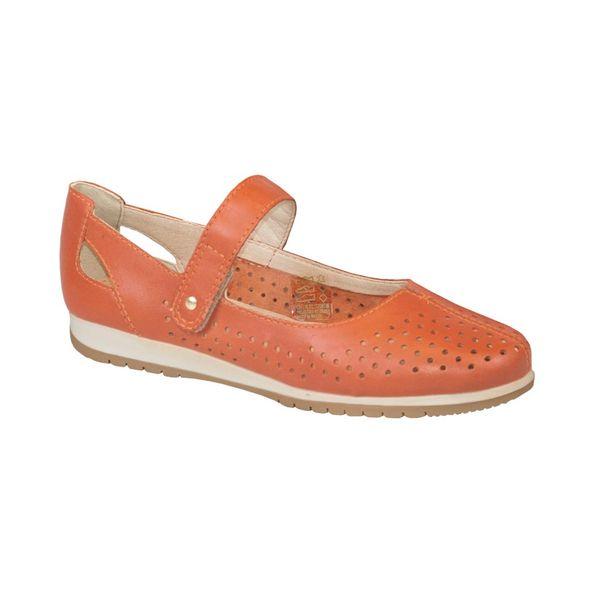 Sapato-Moderno-Com-Recores-A-Laser-Comfort-Couro-Terracota-Tamanho--36---Cor--TERRACOTA-0