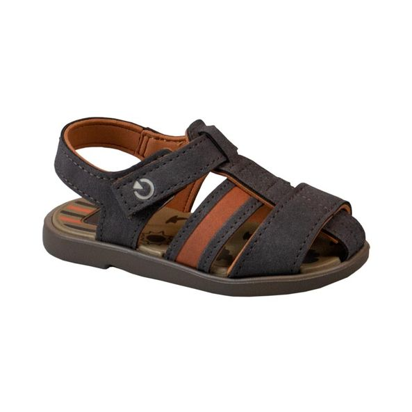 Sandalia-Infantil-Mini-Cartago-Marrom---Bege-11561-Tamanho--19---Cor--MARROM-0
