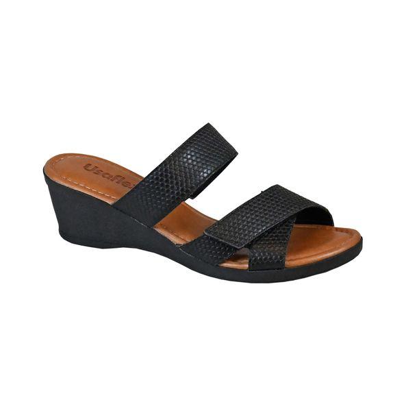 Sandalia-Anabela-Escamada-Comfort-Preta-Tamanho--34---Cor--PRETO-0