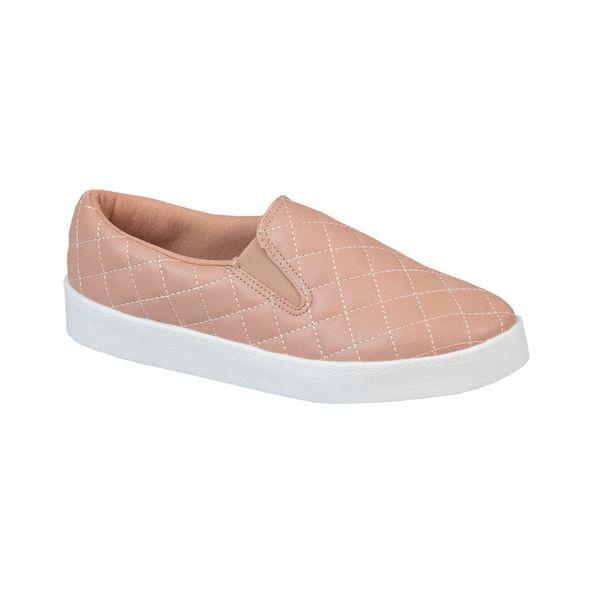 Tenis-Slip-On-Elastico-Lateral-Comfort-Tamanho--35---Cor--ROSA-BALLET-0