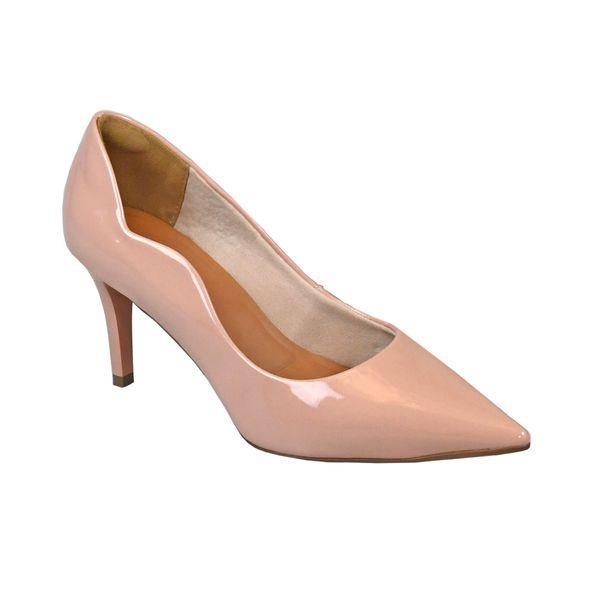 Scarpin-em-Verniz-com-Recorte-Lateral-Comfort-Tamanho--36---Cor--ROSA-BALLET-0